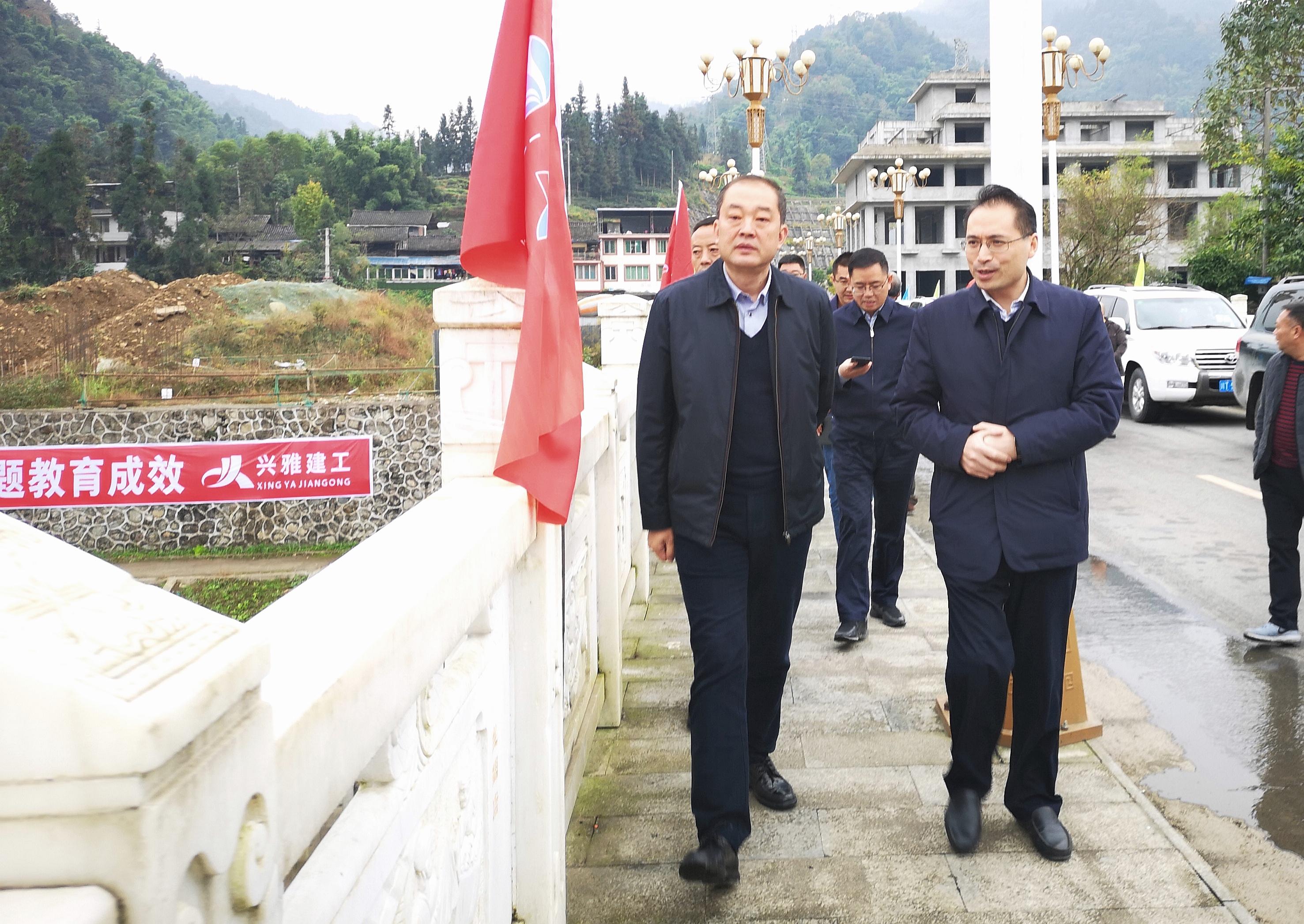 """宝兴县""""8·22""""水利灾后恢复建设进入全面施工阶段"""