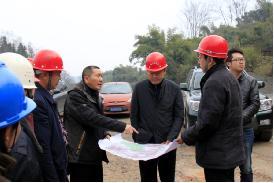 市委常委 副市长白云检查铜头引水工程建设
