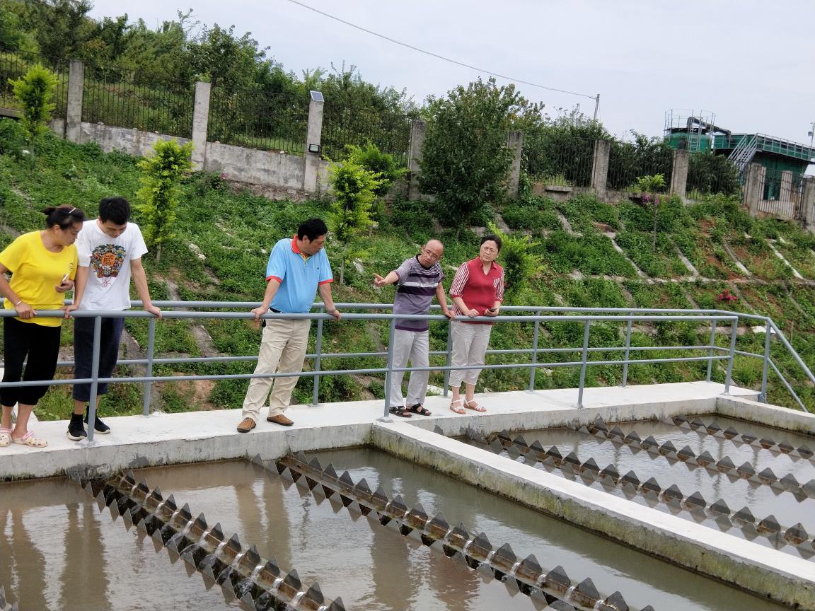 """市水务局对汉源县富庄水厂中央环保督察反馈问题整改工作进行""""回头看"""""""