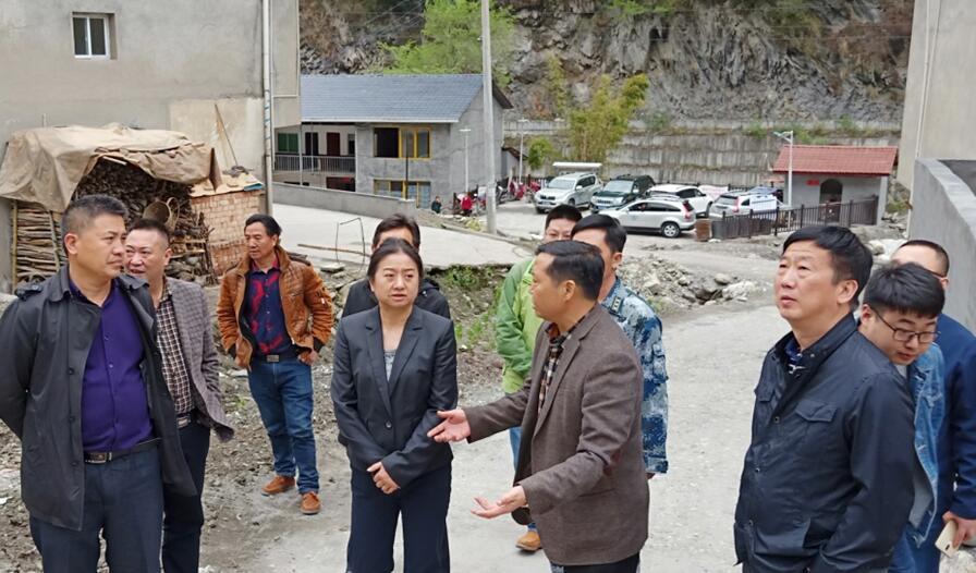 省水利厅工作组到雅安开展水旱灾害防御汛前检查