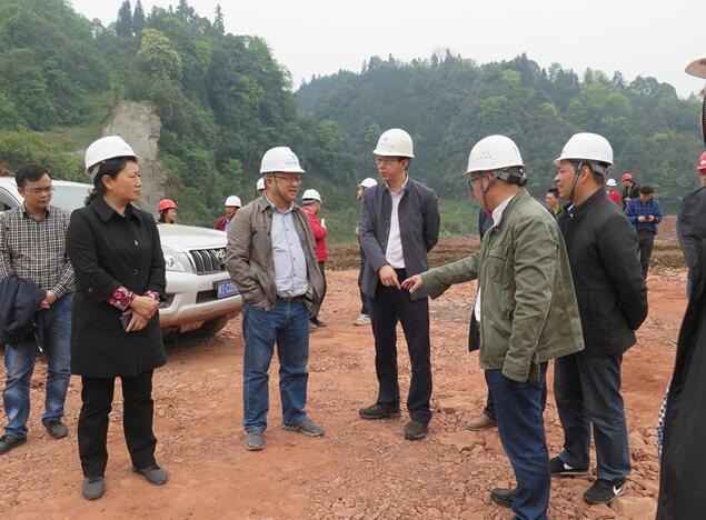 市人大常委会调研九龙水库、南郊引水及配套管网工程建设情况