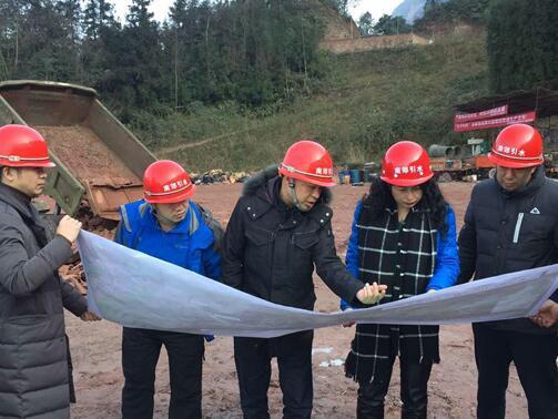 驻市水务局纪检组组长苏红一行督导南郊水厂引水工程